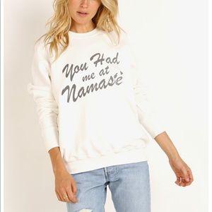 Spiritual Gangster Namaste Sweatshirt, Size Med